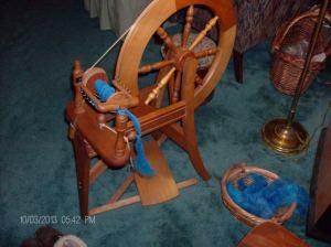 Spinning Corriedale 001