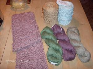 yarn fairy and harris tweed scarf 003