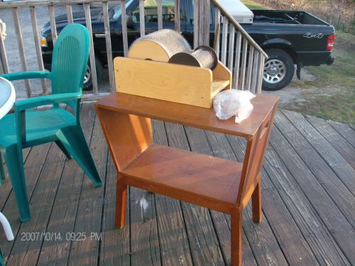 yard and carding table 006